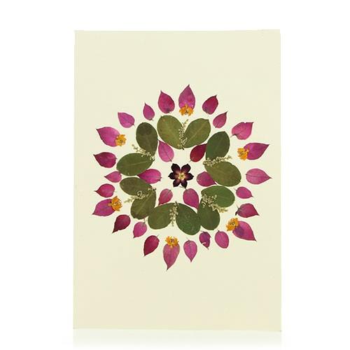 Grusskarte ABENDSONNE, Wildblumen