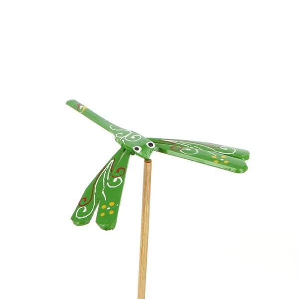 Deko LIBELLE GRÜN, Bambus