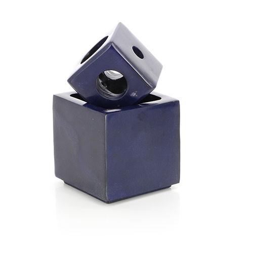 Kerzen-/Räucherstäbchenhalter 6 IN 1, Palewa-Stein