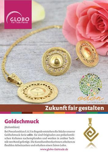 Plakat GOLDSCHMUCK, DIN A1