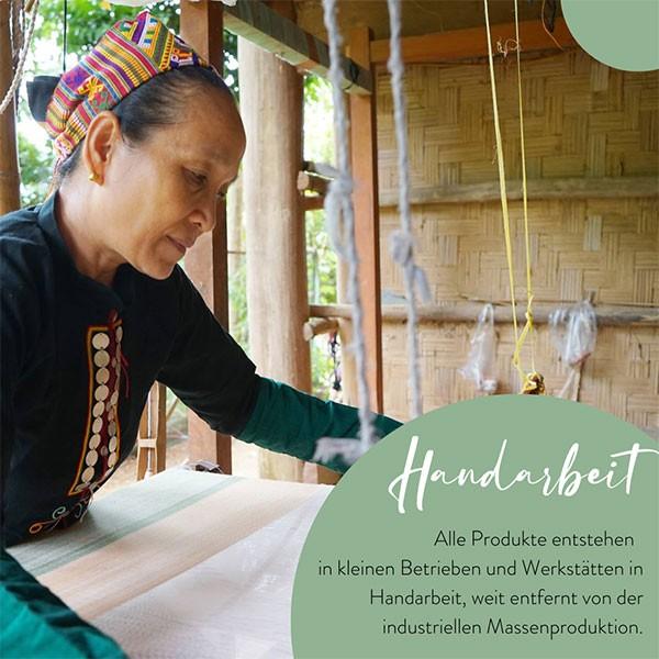 Alle Artikel im Fair Trade Shop entstehen in Handarbeit