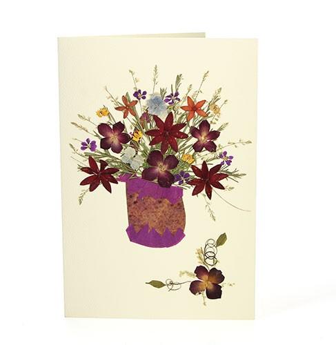 Grußkarte WIESENSTRAUSS, Wildblumen