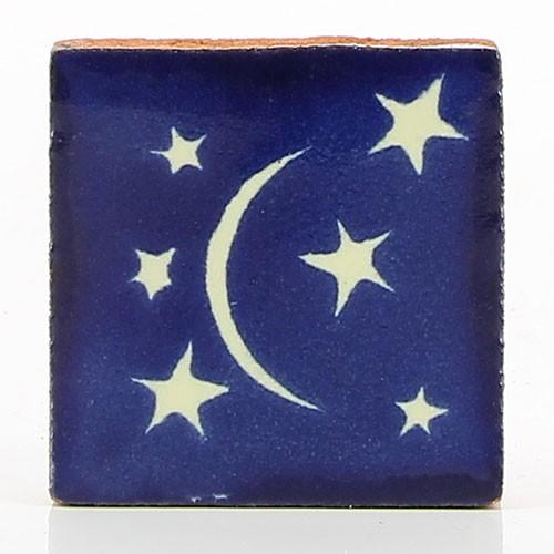 Fliese LUNA CON ESTRELLAS 5 x 5, Keramik