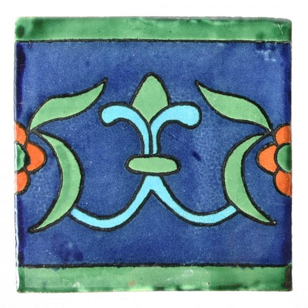 Fliese LILIA AZUL 10 x 10, Keramik