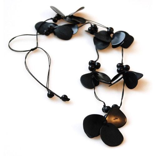 Halskette TRAJE, Tagua-Nuss/Asahi