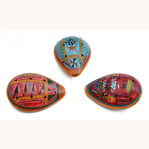 Ocarina GEOMETRICO, Keramik