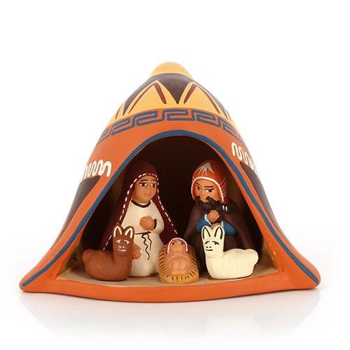Krippe MÜTZE, Keramik