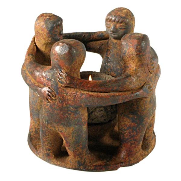 Figur FRIEDENSTANZ, Keramik