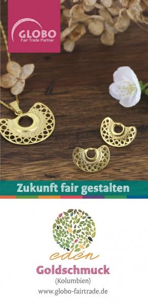Faltblatt GOLDSCHMUCK, DIN lang