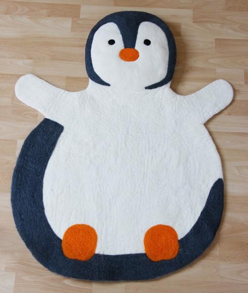 Teppich PINGUIN, Filz