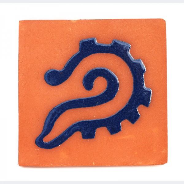 Fliese FOSIL 10 x 10, Keramik