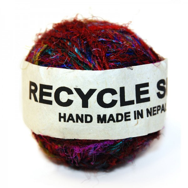 Wolle SEDA, Recycling-Seide