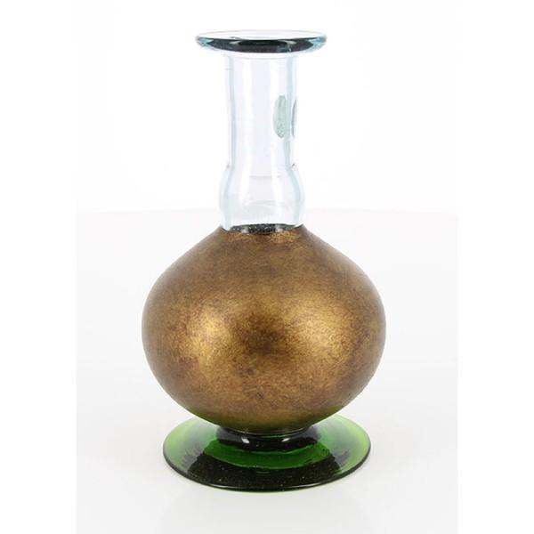 Vase OLD GOLD, Glas