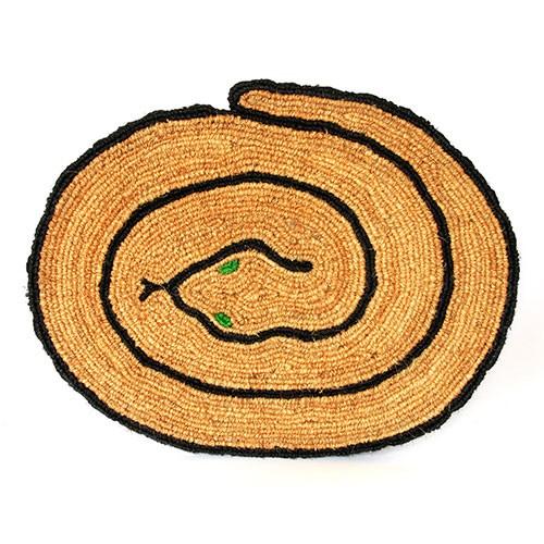 Fußmatte SCHLANGE, Kokosfaser