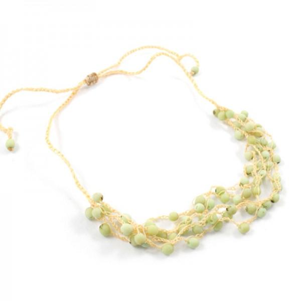 Halskette MOOS, Chirilla-Samen