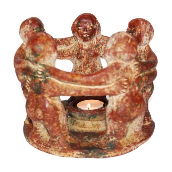 Figur FRIEDENSTANZ FRAUEN, Keramik