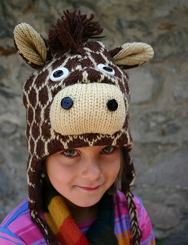 Mütze GIRAFFE, Wolle
