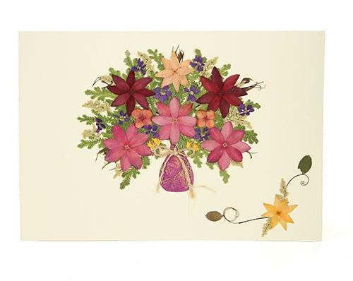 Grußkarte SOMMERGLÜCK, Wildblumen