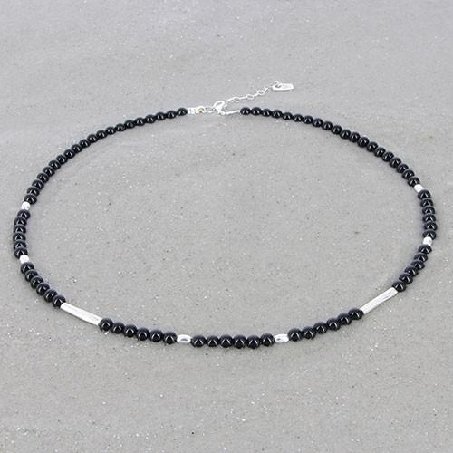 Kette ONYX, 950er Silber