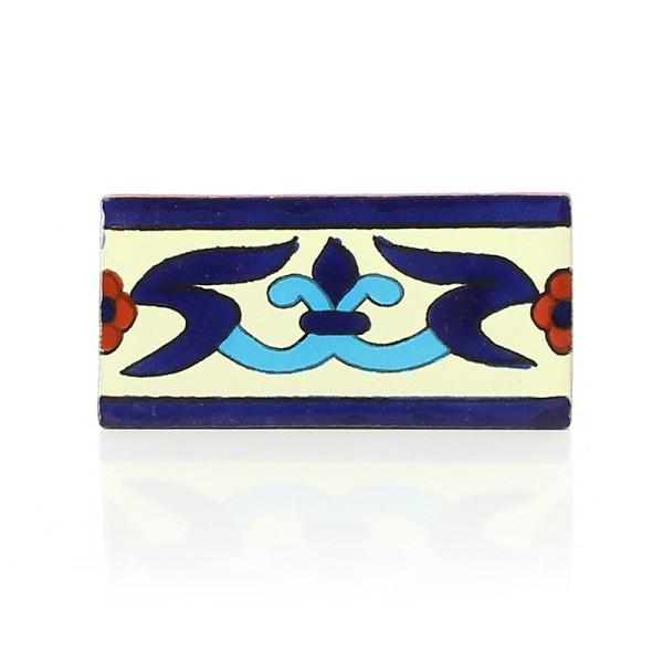 Fliese LILIA BLANCO 5 x 10, Keramik