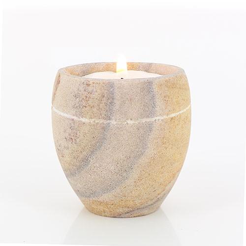 Teelichthalter JAR, Stein