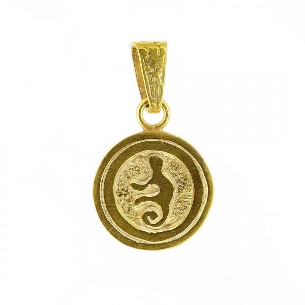 Anhänger CHOLENA, 925er Silber, vergoldet