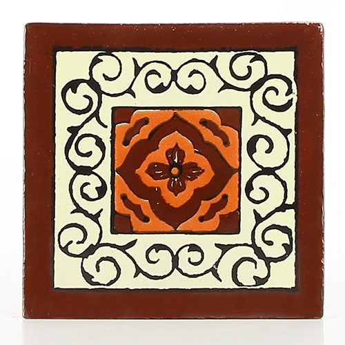 Fliese BARCELONA CHOCOLATE 10 x 10, Keramik