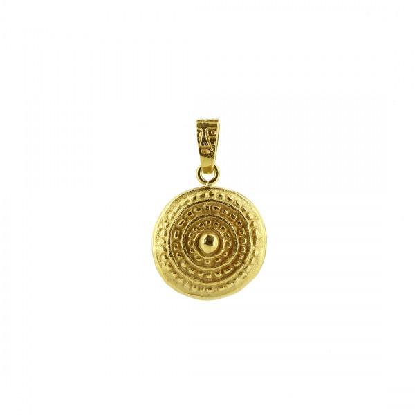 Anhänger INOLA, 925er Silber, vergoldet