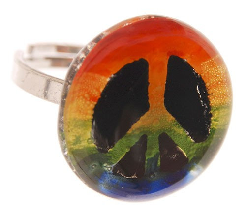Ring PEACE, Glas