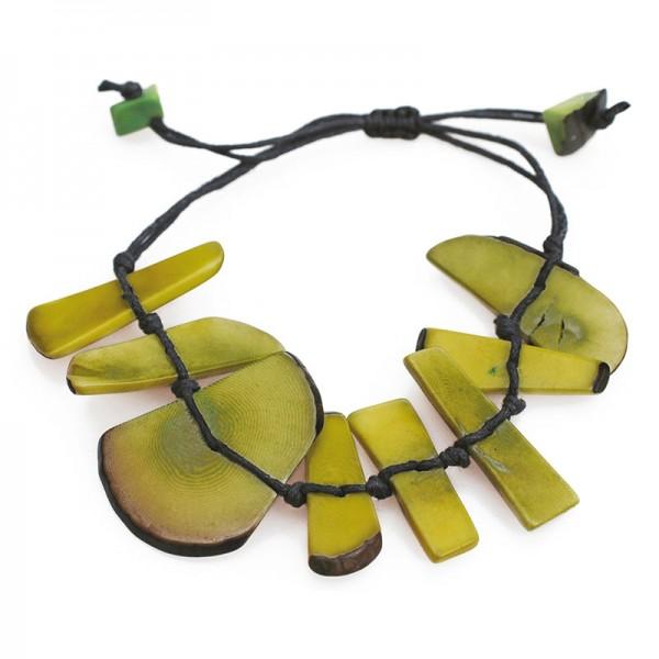 Armband ESCUDO, Tagua-Nuss