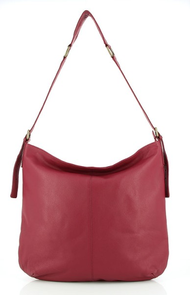 Hobo Bag MAXI, Nappa-Leder
