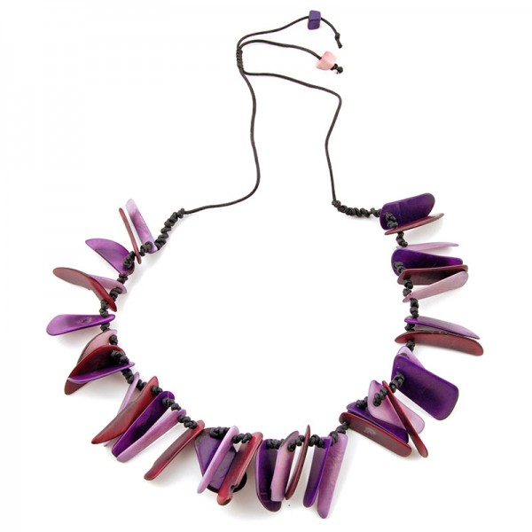 Halskette GALGO, Tagua-Nuss