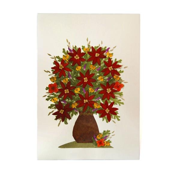 Grußkarte DAHLIA, Wildblumen
