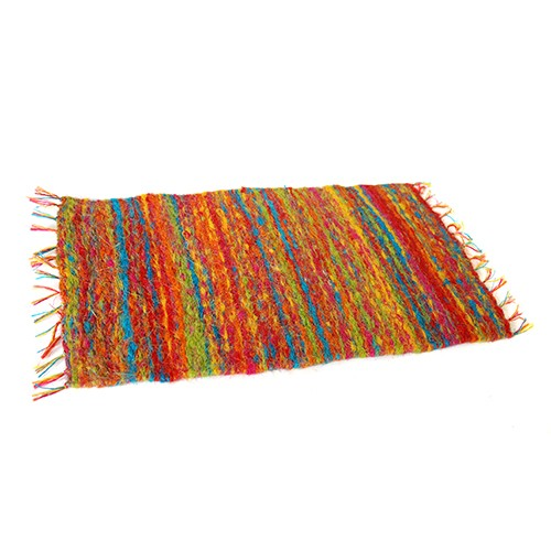 Teppich aus Palmblatt-Fasern, 50x70cm