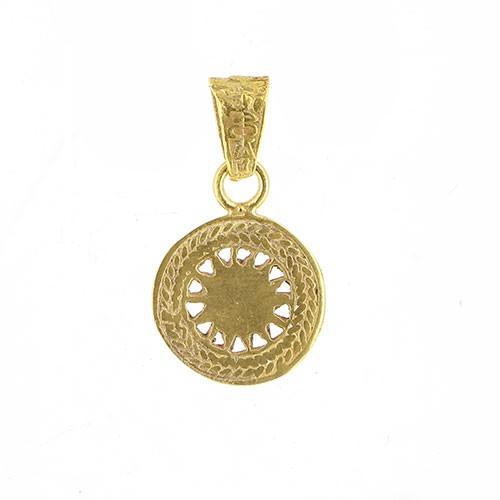 Anhänger SANUYE, 925er Silber, vergoldet