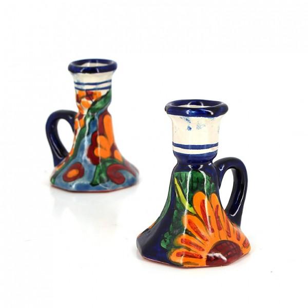 Kerzenhalter TALAVERA, Keramik
