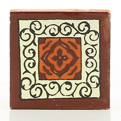 Fliese BARCELONA CHOCOLATE 5 x 5, Keramik