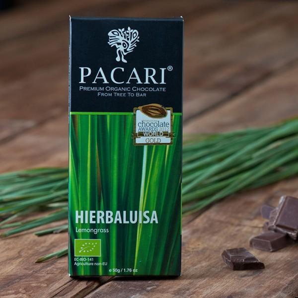 Bio-Schokolade PACARI ZITRONENGRAS, 60% Kakao