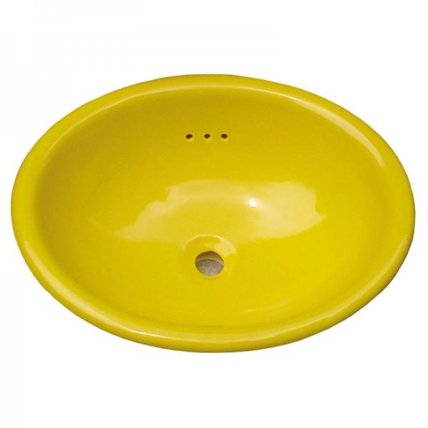 Waschbecken GELB INTENSE, Keramik