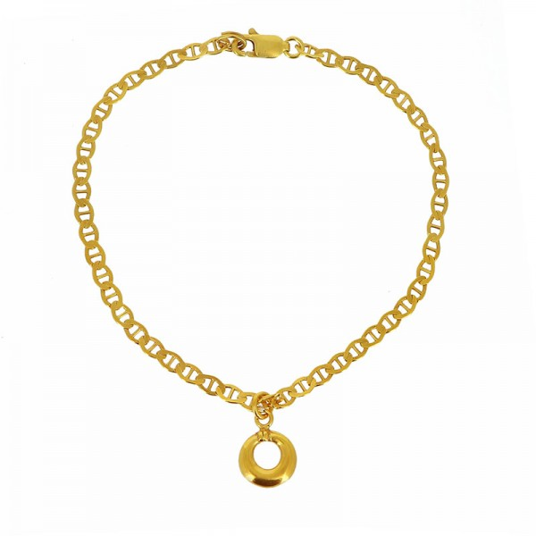 Armband MIAKODA, 925er Silber, vergoldet
