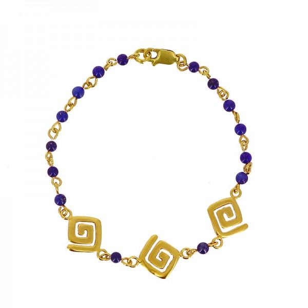Armband ETENIA, 925er Silber, vergoldet