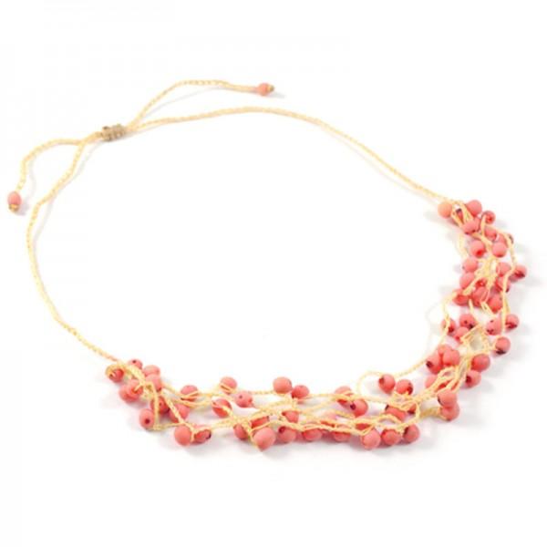 Halskette KORALLE, Chirilla-Samen