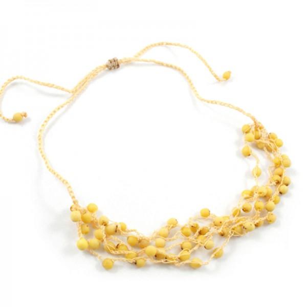 Halskette LIMONE, Chirilla-Samen