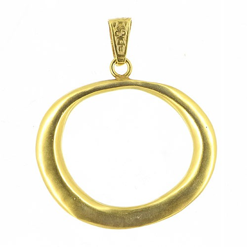 Anhänger MAGENA, 925er Silber, vergoldet