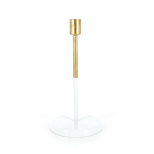 Kerzenständer ALVA GOLD, Eisenblech