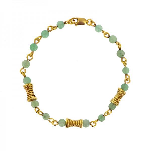 Armband ITUMA, 925er Silber, vergoldet
