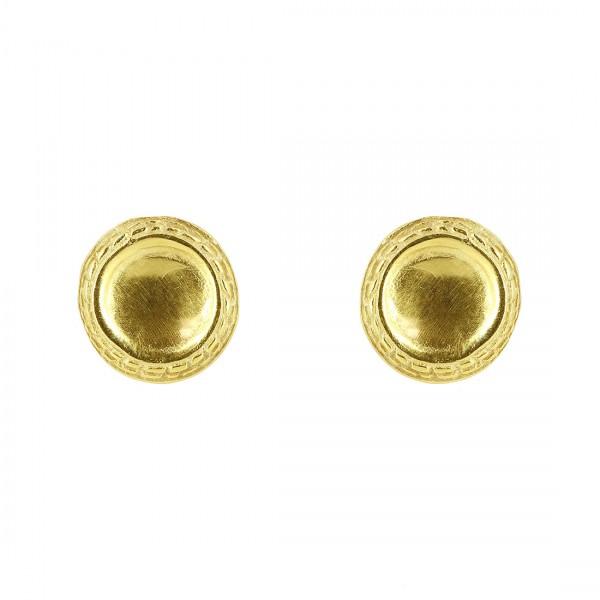 Ohrstecker TAINI, 925er Silber, vergoldet