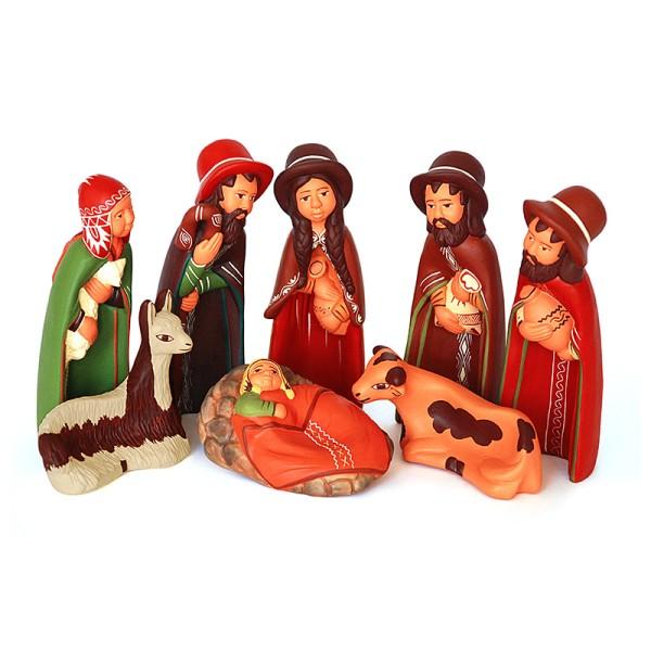 Figuren KRIPPE, Keramik
