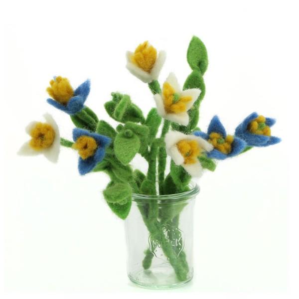Blume QUAKER LADIES, Filz