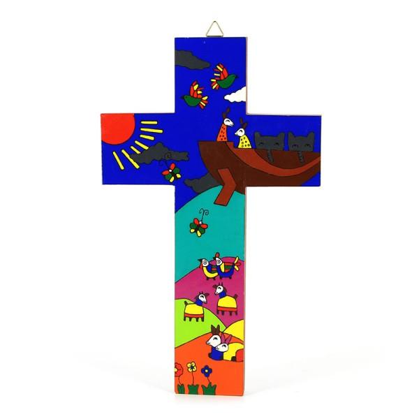 Kreuz ARCHE NOAH, Holz